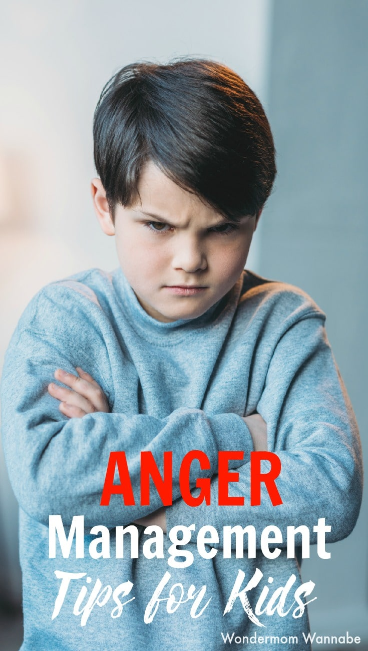 Positive anger management skills for kids #parenting
