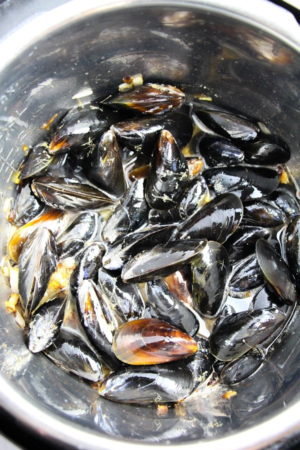 mussels in an instant pot