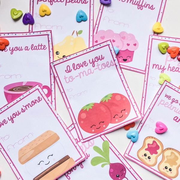 These free printable Valentines are so cute! #printables #Valentines