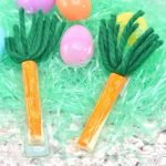 Fun Easter Snack Craft: Cheese Stick Carrot