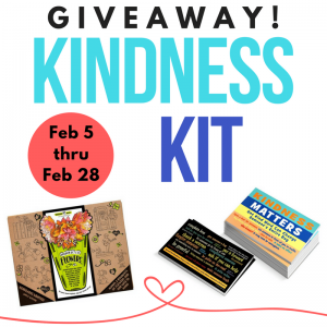 February Giveaway: Random Acts of Kindness Kit