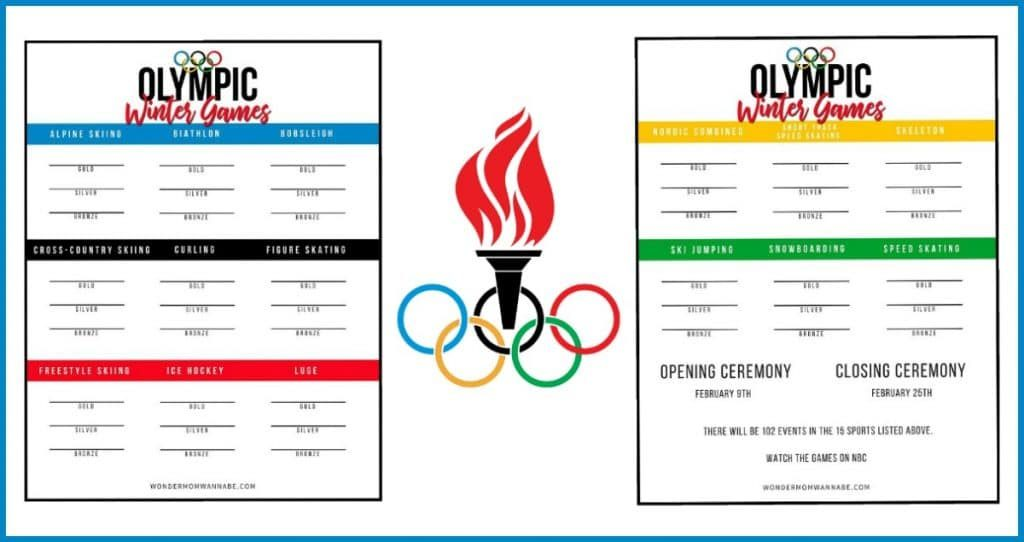 image relating to Printable Olympic Schedule referred to as 2018 Winter season Olympics Medal Tracker