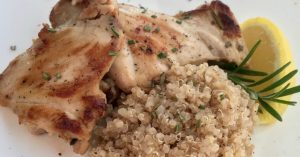 Rosemary Lemon Boneless Chicken Thigh Recipe