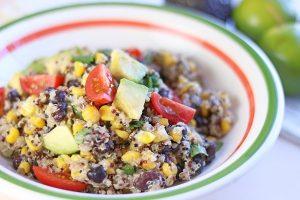Instant Pot Quinoa Black Bean Salad