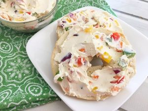 Garden Vegetable Cream Cheese