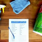 Free Printable Cleaning Supplies List