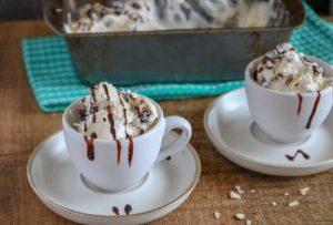 Easy Homemade Almond Joy Ice Cream