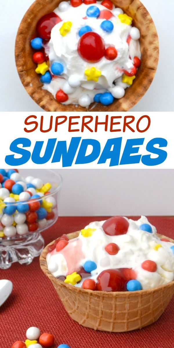 Superhero Sundaes