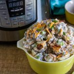 Instant Pot Loaded Baked Potato Salad