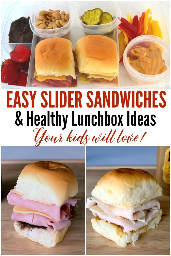 Are you looking for lunch ideas that are healthy and your kids will enjoy eating? Check out these easy slider recipes simple lunch ideas for kids. #lunchforkids #lunchrecipes #sliderrecipes #lunchideas via @wondermomwannab