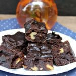 Instant Pot Brownies with Nuts