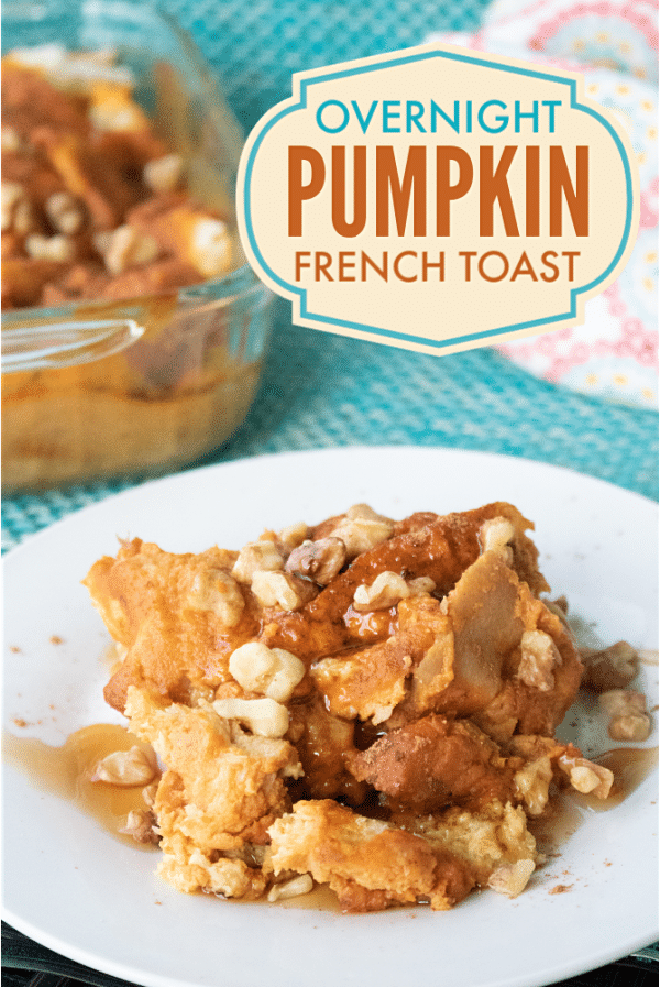 Overnight Pumpkin French Toast