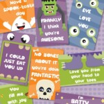 Free Printable Lunchbox Notes for Halloween