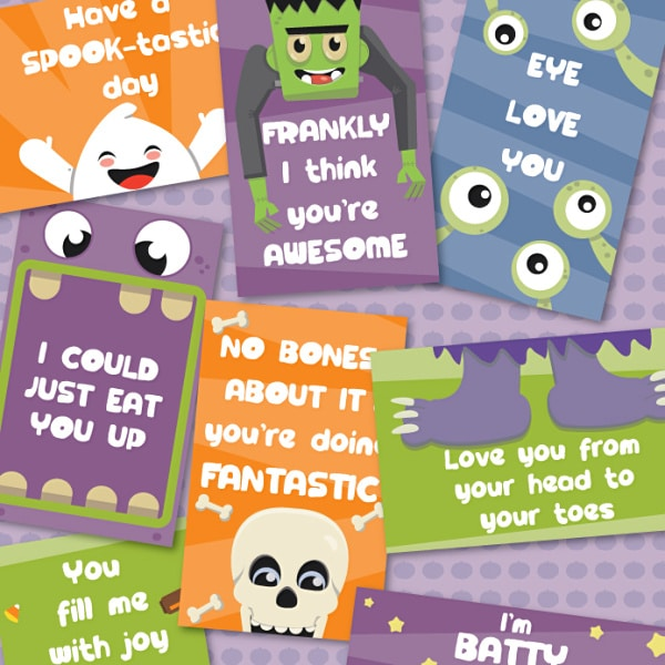 printable halloween tags for treat bags