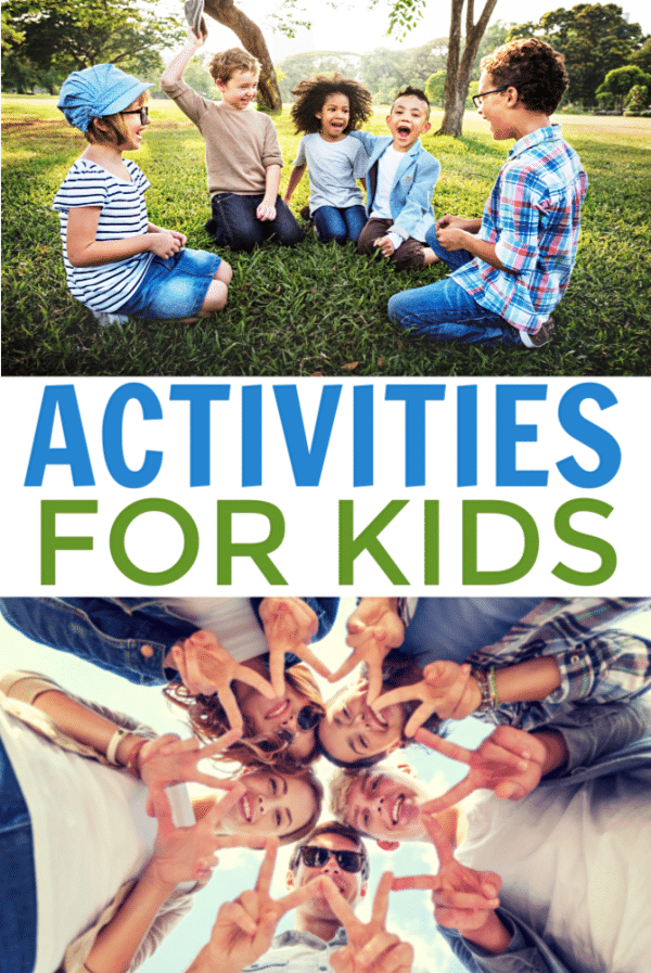 So many different activities for kids of all ages! Indoor, outdoor, educational, seasonal -- great collection of all sorts of kids activities! #fun #kids #activities