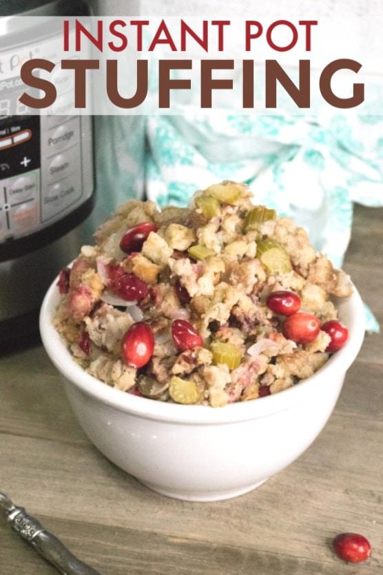 Instant Pot Stuffing