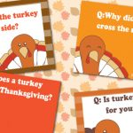 Printable Thanksgiving Riddles
