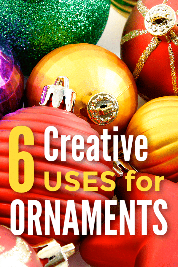 6 Creative Uses for Christmas Ornaments