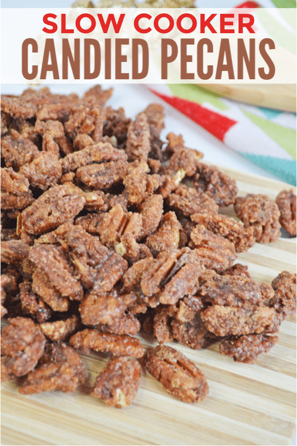 Slow Cooker Candied Pecans Recipe
