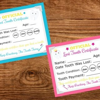 free printable tooth fairy letters
