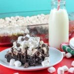 hot chocolate dump cake