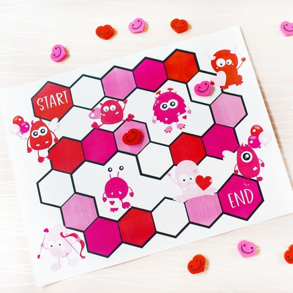 Printable Valentine Game