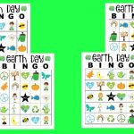 free printable Earth Day Bingo cards