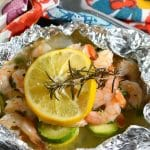 Keto Shrimp Foil Packets