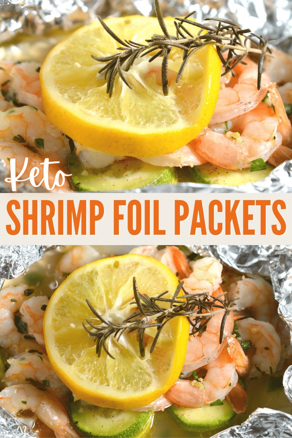 Keto Shrimp Foil Packets are a quick and easy way to get a healthy dinner on the table. This keto friendly meal is family friendly and mess free! #shrimp #foilpackets #keto via @wondermomwannab