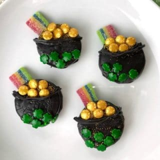 completed Oreo St. Patrick's Day Treats