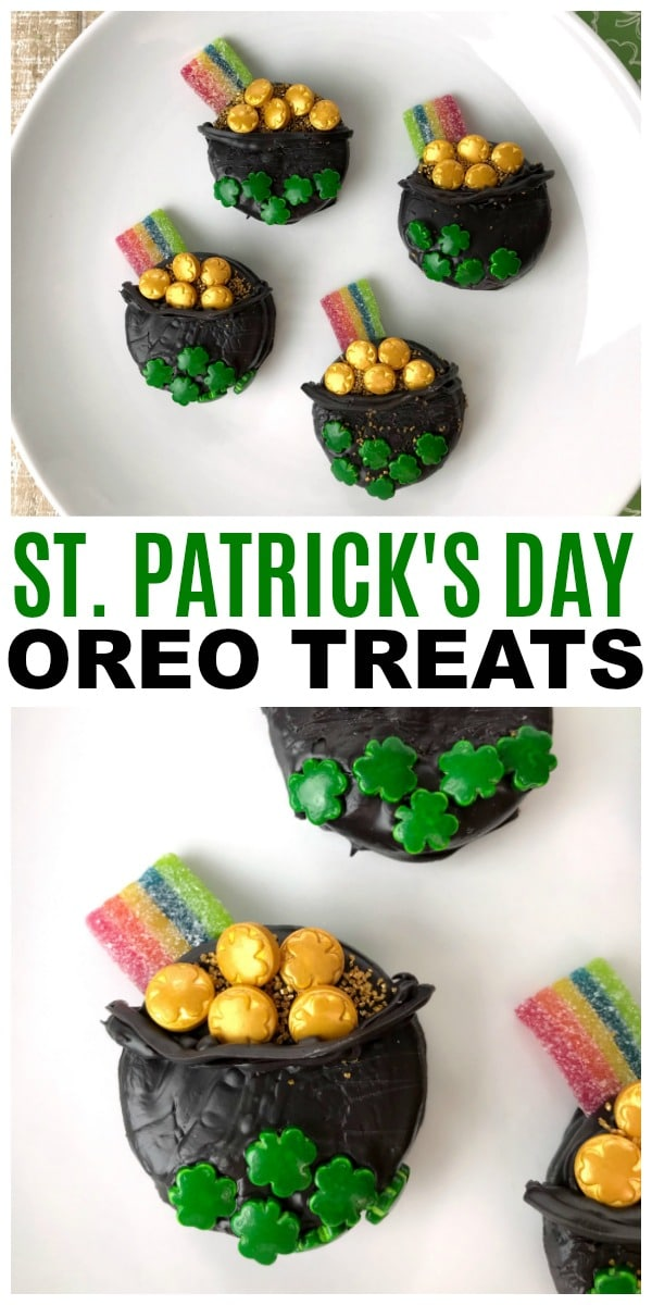 Oreo St. Patrick's Day Treats