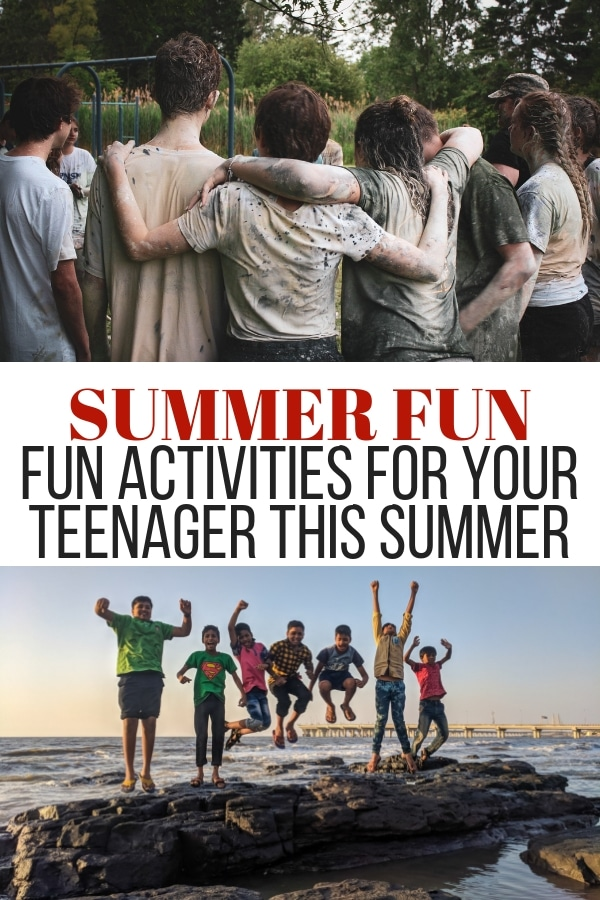 If you're looking for summer fun activities for teens, look no further than these simple tips! They'll love them and so will you!