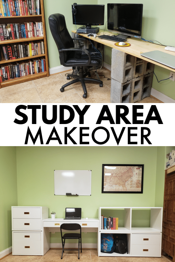 Study Area Makeover
