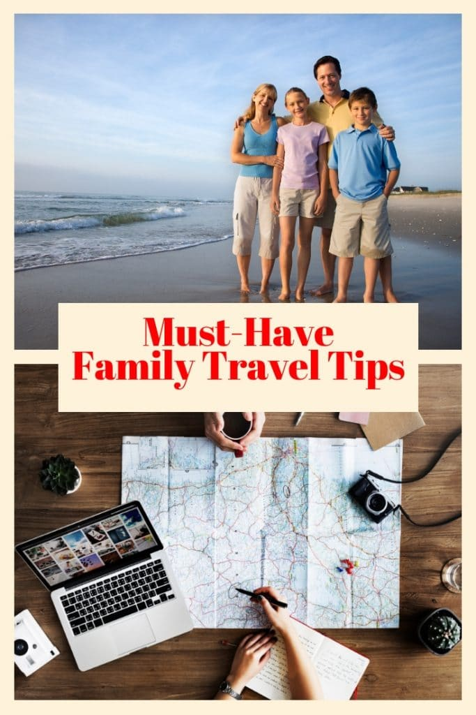 These family travel tips are perfect for any type of family vacation, Spring break, summer fun or holiday adventure! Simple and easy to implement!