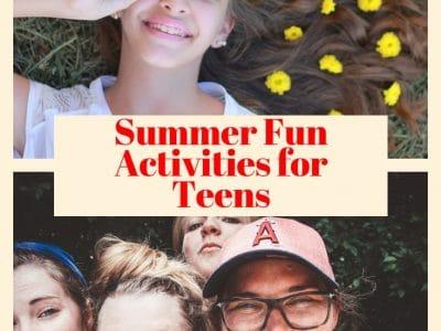 summer fun activities for teens