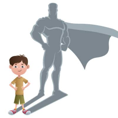 Bully Proofed Child cartoon