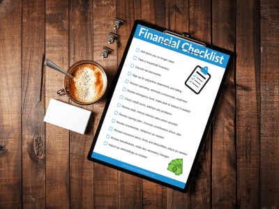 Financial Checklist on Desk