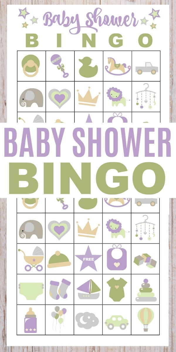 graphic relating to Printable Baby Shower called No cost Printable Little one Shower Bingo