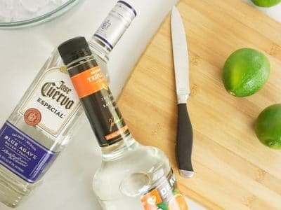 ingredients for a mexican frozen margarita
