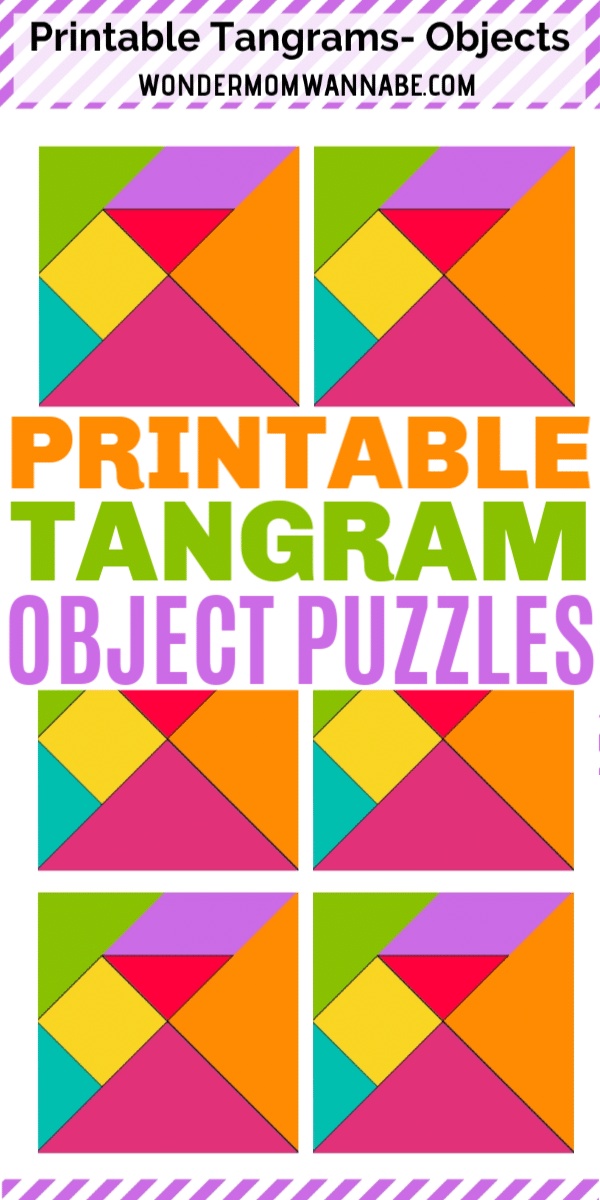 picture regarding Printable Tangram known as Printable Tangram Merchandise