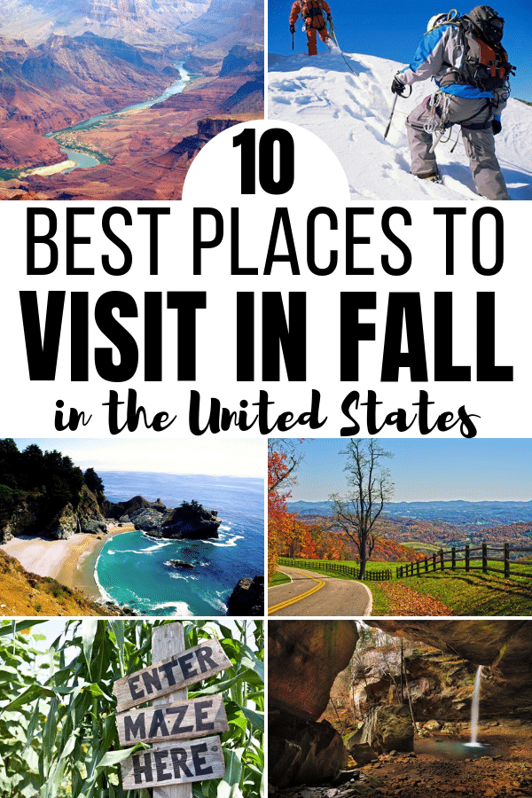 Not sure where to travel during this fall season? Check out some of the epic destinations to visit in the fall in the United States. #travel #fall #unitedstates via @wondermomwannab