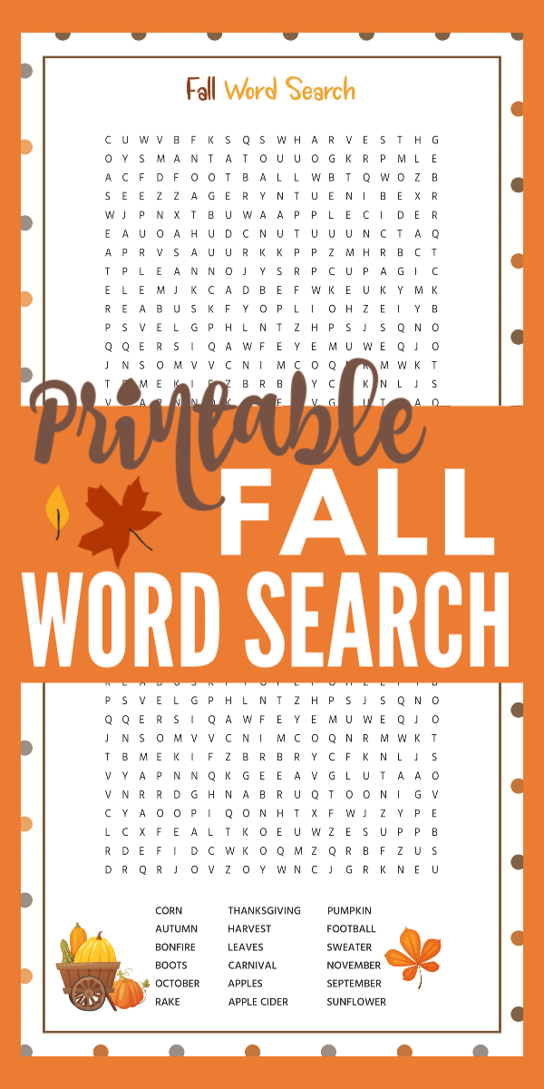 graphic regarding Fall Word Search Printable titled Cost-free Printable Slide Phrase Glance with Alternative Secret
