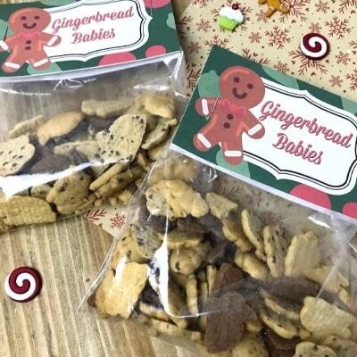 Gingerbread Babies Treat Bags