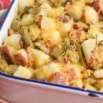 green bean potato casserole