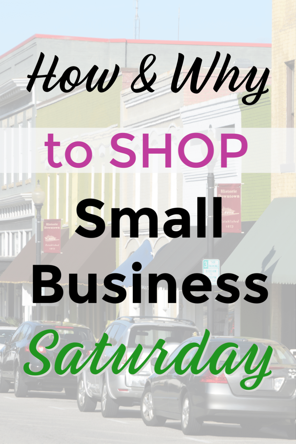 If you've been ignoring the days between Black Friday and Cyber Monday when holiday shopping, you're missing a big opportunity! Here are some good reasons you should be shopping on Small Business Saturday, plus helpful tips to save you time and find the best deals. #holidayshopping #smallbusinesssaturday #shoplocal via @wondermomwannab