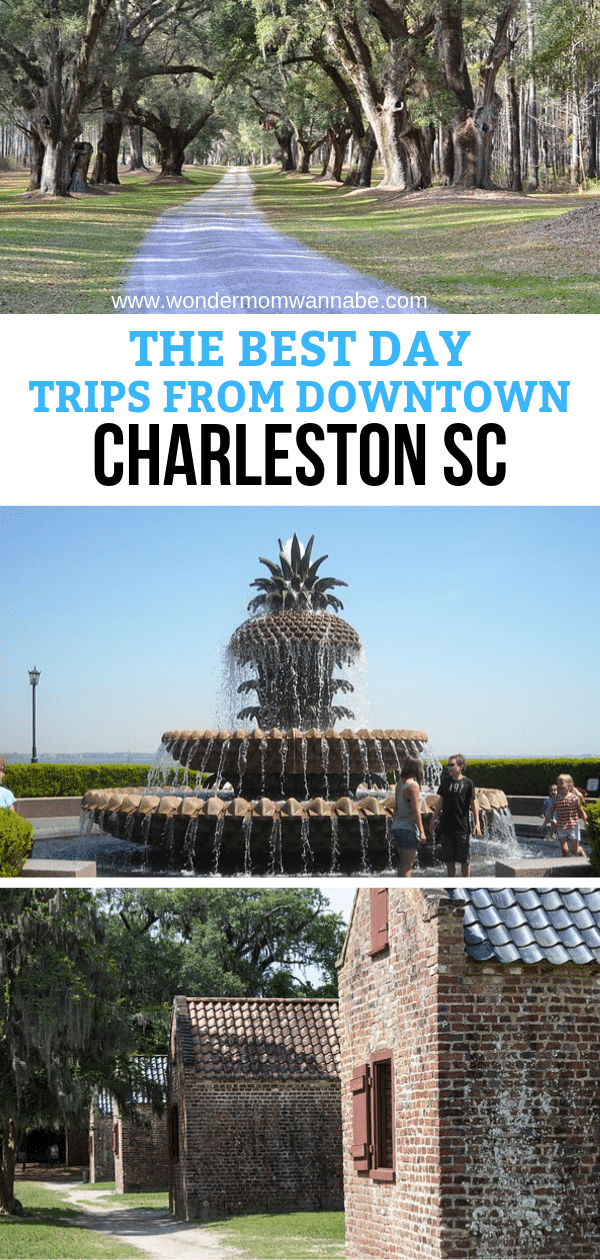 Charleston South Carolina has been named by travel publications as a top tourist destination several years in a row. Come check out all of the things to see and do in the downtown area, and the historical and educational day trips! #charleston #southcarolina #daytrips #charlestonsc via @wondermomwannab