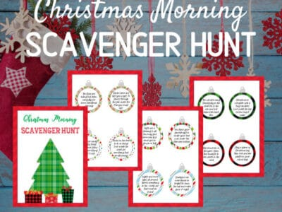 Free Printable Christmas Scavenger Hunt Riddles