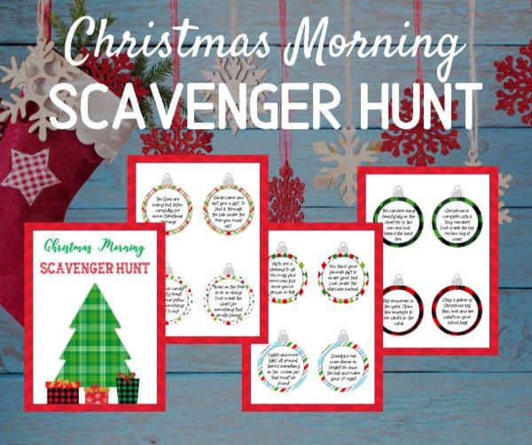 Free Printable Christmas Scavenger Hunt Riddles