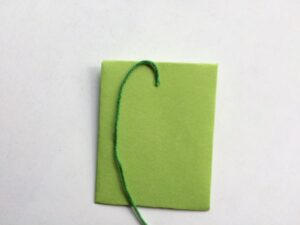 how to add string to a mini envelope