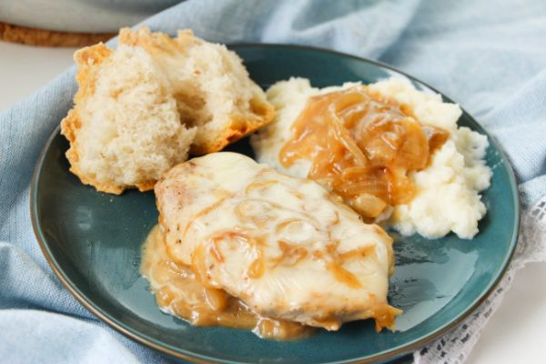 delicious French Onion Pork Chops